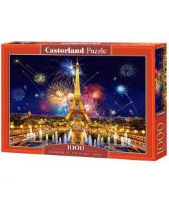 Puzzlespil / Nat i Paris / 1000 brikker