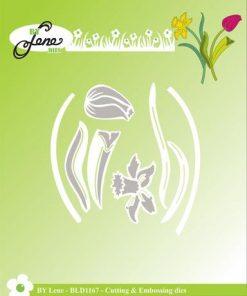 Dies / Smukke forårs blomster / By Lene Dies