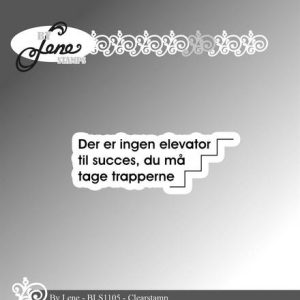 Stempel / Med tekst / By Lene