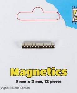 Magneter 5 x 2 mm / Nellie's