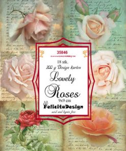 Toppers / Lovely Roses / Felicita design