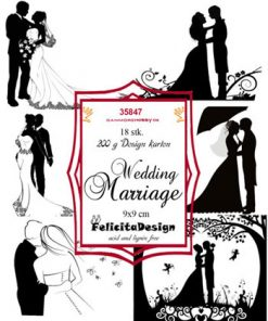 Toppers / Wedding Marriage / Felicita Design