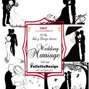 Toppers / Wedding Marriage / Felicita Design