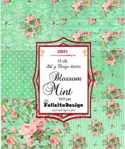Toppers / Blossom Mint / Felicita Design