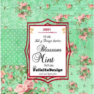 Toppers / Blossom Mint / Felicita Design