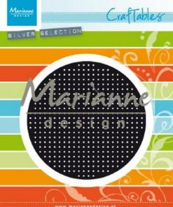 Dies / Cross stitch rund / Marianne Design