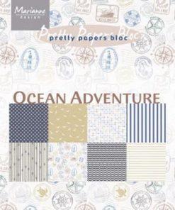 Karton A5 / Ocean adventure / Marianne Design