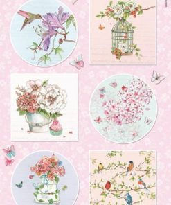 Blomster / Romantic dreams pink / Marianne Design