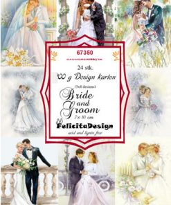 Toppers / Bride & Groom / Felicita Design