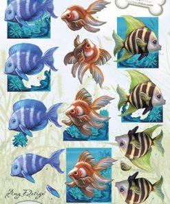 Dyr / Tropiske fisk / Amy design