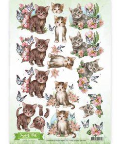 Dyr / Søde katte / Amy Design