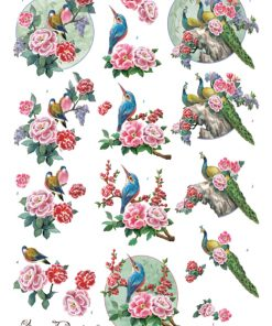 Dyr / Orientalske fugle / Amy Design