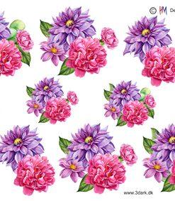 Blomster / Flotte sommerblomster / Hm Design