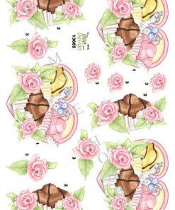 Blomster / Kager & blomster / Dan-Design