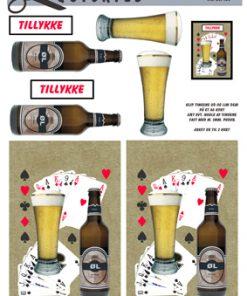 Herre / Øl og spillekort / Quickies