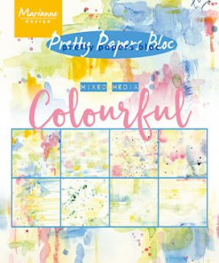 Kartonblok / Colorful / Marianne Design