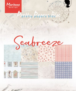 Kartonblok / Seabreeze / Marianne Design