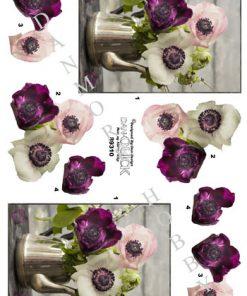 Blomster / Blomster i kaffekande / Dan-Quick