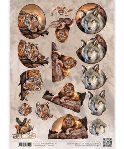 Dyr / Tiget,løve eller ulv / Amy design