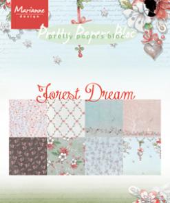 Kartonblok / Forest Dream / Marianne Design