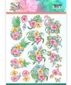 Blomster / Sødt og tropisk / Yvonne Design