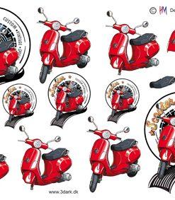 Herre / Røs scooter / Hm Design
