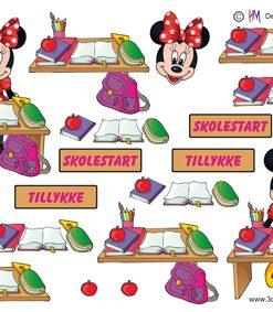 Børn / Minnie, skolestart / Hm Design