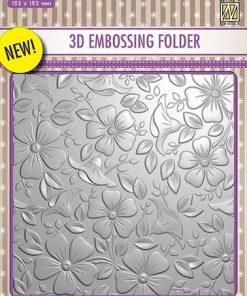 Embossingfolder / Blomster / Nellie's