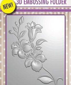 Embossingfolder / Smuk blomst / Nellie's