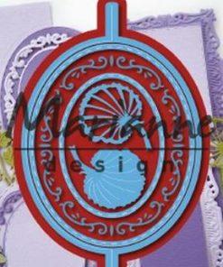 Dies / Oval folde dies / Marianne Design