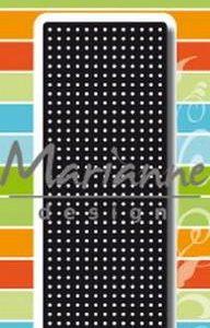 Dies / Kors sting border / Marianne design
