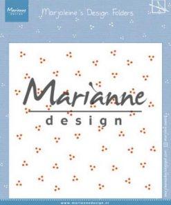 Embossingfolder / Prikker / Marianne Design