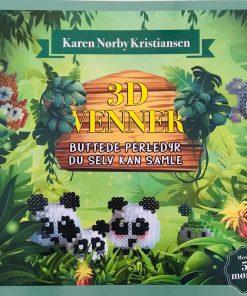 Bog / 3D venner / Karen Nørby Kristiansen