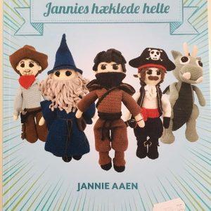 Bog / Jannies hæklede helte / Jannie Aaen
