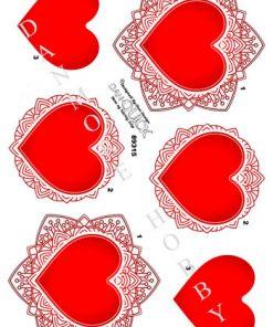 Blandet / Smukt hjerte / Dan-Quick