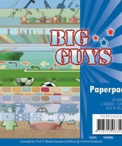 Papir pakke / Big guys / Yvonne Creations