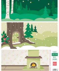 Jul / Baggrund med jul / Marianne Design