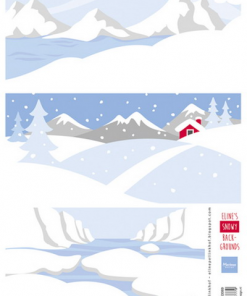 Vinter / Baggrunde med sne / Marianne Design