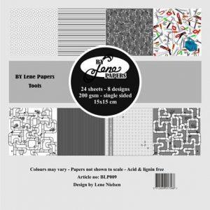 Karton / Værktøj / By Lene Papirblok
