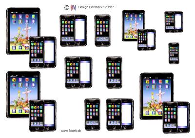 Blandet / Tablet & telefon / Hm Design
