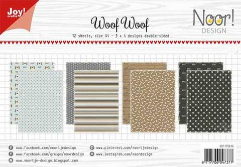 Papirblok / Woofwoof / Joy Crafts