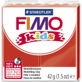 Fimo kids ler, Rød / 42 g