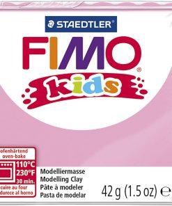 Fimo kids ler, rosa / 42 g