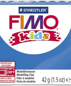 Fimo kids ler, Blå / 42 g