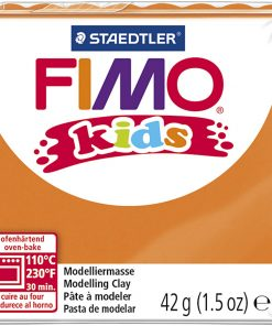 Fimo kids ler, orange / 42 g
