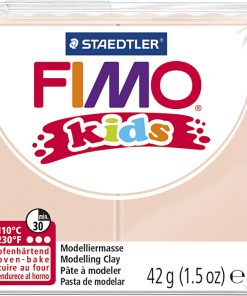 Fimo kids ler, Hudfarvet / 42 g