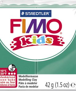Fimo kids ler, grøn / 42 g