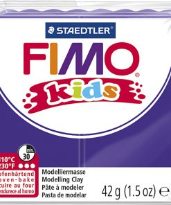 Fimo kids ler, lilla / 42 g