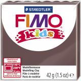 Fimo kids ler, brun / 42 g