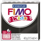 Fimo kids ler, sort / 42 g